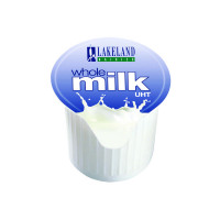 120 x Lakeland Full Fat Milk Pots (Heat treated to add longevity) A01982
