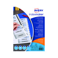 Avery Index Maker A4 10-Part White Unpunched Divider 01816061