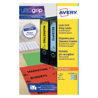 Avery Lever Arch Spine Label 200x60mm (Pack of 80) L7171A-20