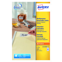 Avery Removable Mini Laser Labels 35.6 x 16.9mm (Pack of 2000) L4732REV-25