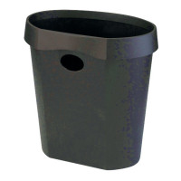 Avery DTR Eco Waste Bin 18 Litre Black DR500BLK