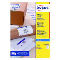 Avery White Inkjet Address Labels 99.1 x 38.1mm 14 Per Sheet (Pack of 1400) J8163-100
