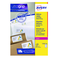 Avery Quickpeel Laser Address Labels 99.1 x 34mm (Pack of 1600) L7162-100