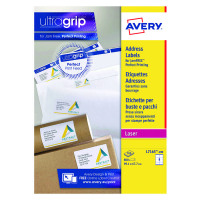 Avery White Laser Parcel Labels 99.1 x 67.7mm 8 Per Sheet Pack of 800 L7165-100