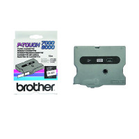 Brother P-Touch TX Tape 12mm Black /White TX231