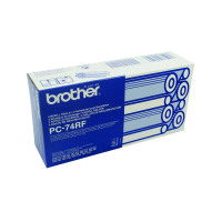 Brother Thermal Transfer Ink Ribbon (Pack of 4) PC74RF