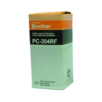 Brother Black Thermal Transfer Film Ribbon (Pack of 4) PC304RF
