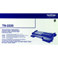 Brother High Yield Black Toner Cartridge 2.6K FAX-2940 TN2220