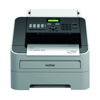 Brother FAX-2940 High-Speed Laser Fax Machine White FAX2940ZU1