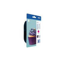 Brother Magenta Ink Cartridge (600 Page Capacity) LC123M