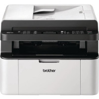 Brother MFC-1910W Mono Laser All-in-One Printer With Fax Wireless White MFC1910WZU1