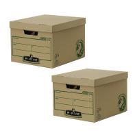 Bankers Box Brown R-Kive Earth Storage Box (2 Packs of 10) BB810443