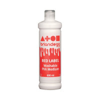 Brian Clegg PVA Glue Red Label 600ml GL600R