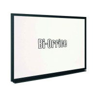 Bi-Office Black Frame Whiteboard 900x600mm MB0700169