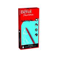 Berol Handwriting Blue Pen S0378690