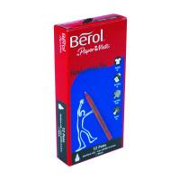 Berol Handwriting Black Pen (Pack of 12) S0378680