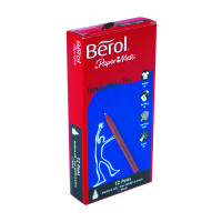 Berol Handwriting Black Pen S0378680