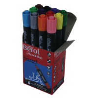 Berol Assorted Colourmarker Pens Boxed (Pack of 12) S0376770