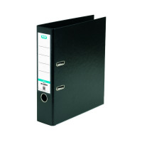 Elba A4 Black Plastic Lever Arch File 100080904
