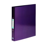 Elba Classy Ringbinder A4 Met Purple (Pack of 3) BX810421