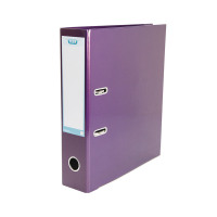 Elba Classy Lever Arch A4 Met Purple (Pack of 3) BX810424
