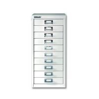 Bisley Multi-Drawer Cabinet A4 10 Drawer Chalk White BY19660