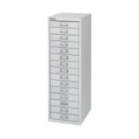 Bisley 15 Drawer Cabinet Silver BY58420