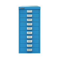 Bisley 29 10 Non-Lock Multidrawer Azure Blue BY78740