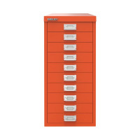 Bisley 29 10 Non-Lock Multidrawer Mandarin BY78746