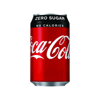 24 x Coke Zero Soft Drink 330ml Can(Gluten, diary and nut free) 402003