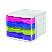 CEP Pro Happy 4-Drawer Module Multi-Coloured 394H MULTI