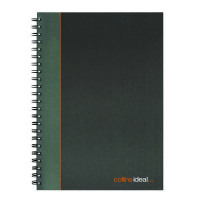 Collins Ideal Wirebound A4 Notebook Ruled Feint 192 Pages 6428W