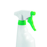 2Work Green Trigger Spray Refill Bottle (Pack of 4) 101958GN