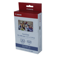 Canon KC-36IP Colour Inkjet Cartridge and Papers Set (Tri-Pack6 Labels/1 Cartridge) 7739A001
