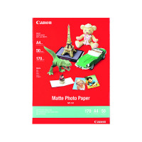 Canon A4 Matte Photo Paper 170gsm (Pack of 50) MP-101 A4