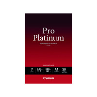 Canon PT-101 Pro A4 Platinum Photo Paper (Pack of 20) 2768B016