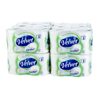 Velvet White 2-Ply Toilet Roll (Pack of 24) 1102088