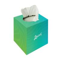 2Work Facial Tissue Cream Cube 70 Sheet Box (Pack 24) KMAX10010
