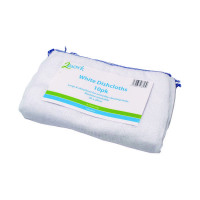2Work White Dishcloth 300x400mm White (Pack of 10) CPD30019