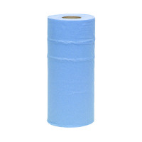 2Work 10 Inch Paper Roll Blue HR2240