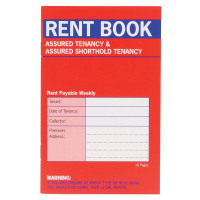 Country Assured Tenancy Rent Book (Pack of 20) C237