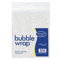 County Bubble Wrap Sheet 600mm x1 Metre C22