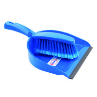 Blue Dustpan and Brush Set 102940BU