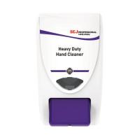 Deb Stoko White and Purple Cleanse Heavy 2000 Washroom Dispenser HVY2LDPEN