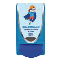 Deb School Soap Dispenser Soaperman 1 Litre SMAN1LDS
