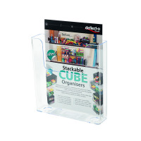 Deflecto Clear Flat Back Literature Holder DE76301