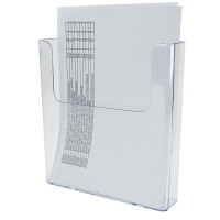 Deflecto Clear Flat Back Literature A4 Holder DE76401