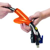 D-Line Cable Zipper 20mm Black 10m CZ2010B
