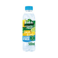 Volvic Touch of Fruit Lemon and Lime Fruit Water 500ml (Pack of 12) 122441