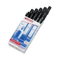 Edding 2000C Permanent Black Bullet Tip Marker (Pack of 10) 2000C-001